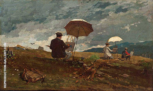 White Mountains 1868 By Winslow Homer