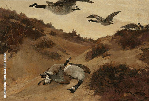 Wild Geese By Winslow Homer