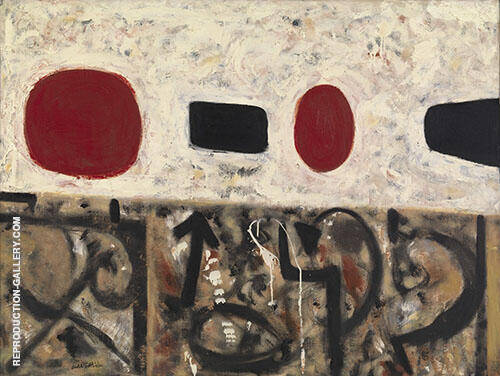Flotsam at Noon 1952 By Adolph Gottlieb