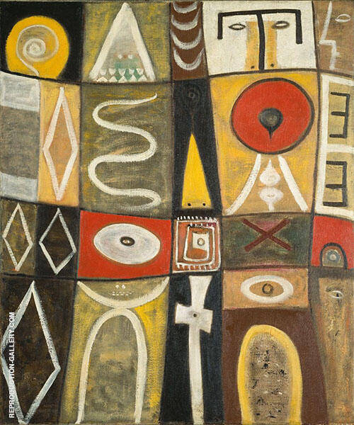 Pictogenic Fragments By Adolph Gottlieb