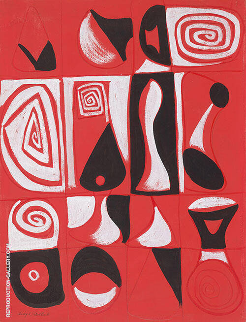 Sleep Mask By Adolph Gottlieb