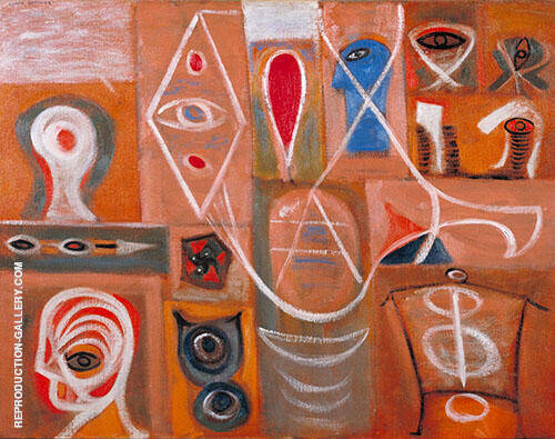 The Alchemist 1945 By Adolph Gottlieb