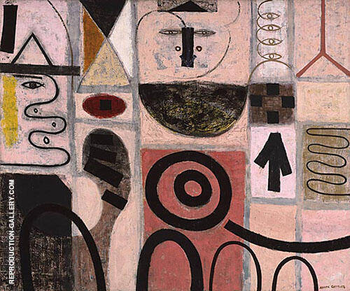 The Seer By Adolph Gottlieb
