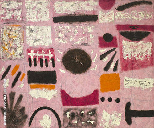 Tournament 1951 By Adolph Gottlieb