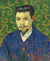 Portrait of Doctor Felix Re By Vincent van Gogh