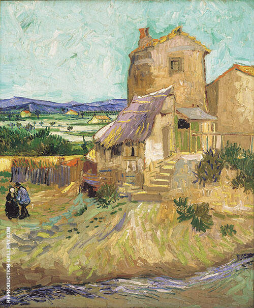 The Old Mill 1888 By Vincent van Gogh