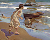 The Bathing Hour 1917 By Joaquin Sorolla