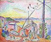 Luxe Calme et Volupte 1904 By Henri Matisse