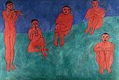 Music 1910 By Henri Matisse