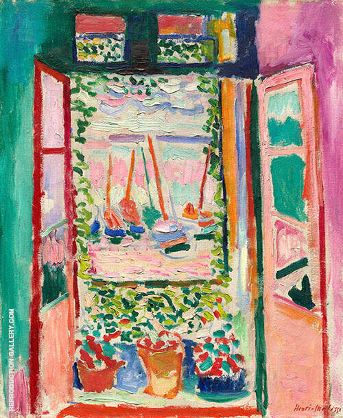 Open Window Collioure 1905 By Henri Matisse