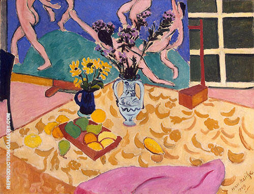 Still Life with Dance 1909 By Henri Matisse