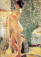 Study of a Nude 1899 By Henri Matisse