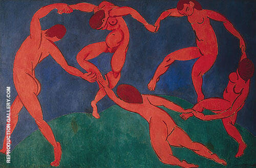 The Dance 1910 By Henri Matisse