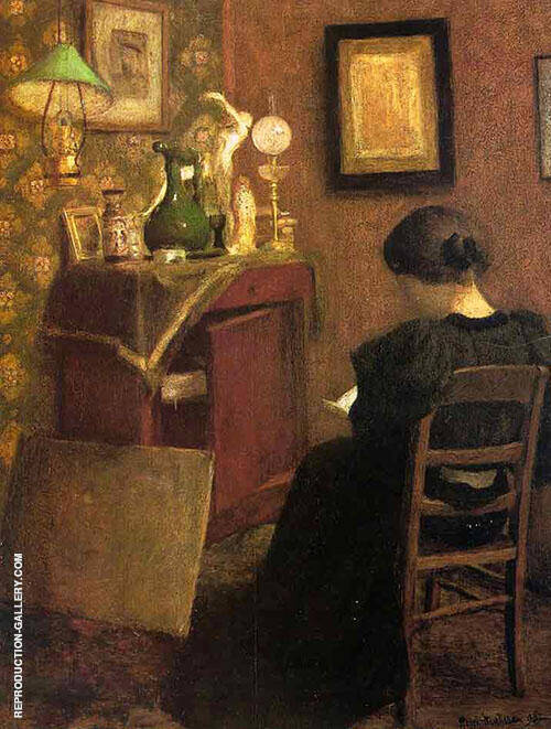 Woman Reading 1894 By Henri Matisse