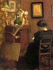Woman Reading 1894 By Henri Matisse