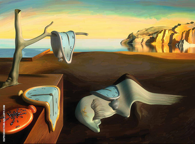 The Persistence of Memory By Salvador Dali