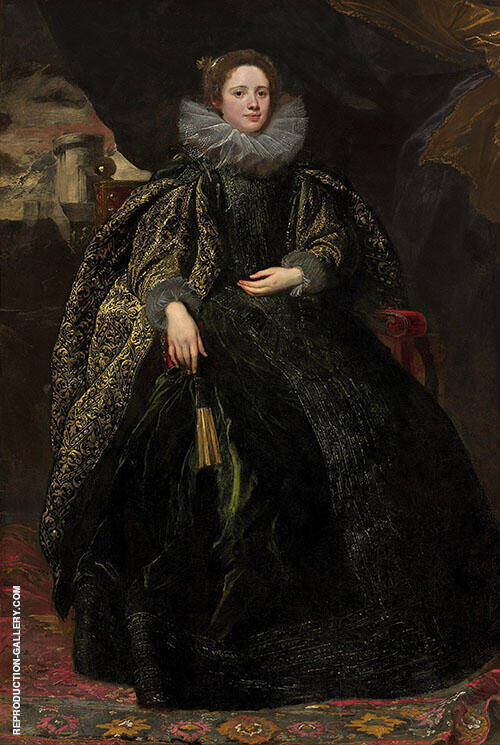 Marchesa BalbI By Van Dyck