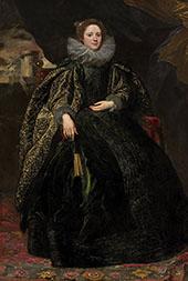 Marchesa BalbI By Van Dyck