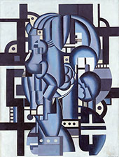 Composition in Blue c1921 By Fernand Leger