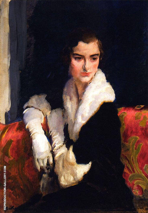 Portrait of Flora Whitney 1916 Painting By Cecilia Beaux