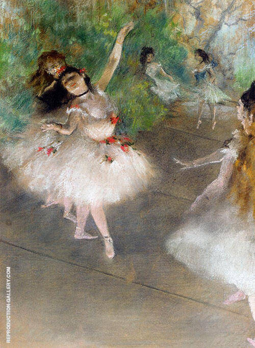 Dancers c1878 By Edgar Degas