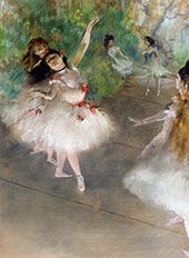 Dancers c1878 By Edgar Degas