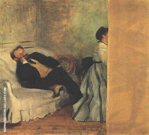 Edouard Manet 1866 By Edgar Degas