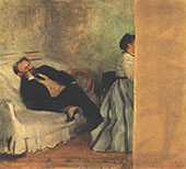 Edouard Manet 1866 By Edgar Degas