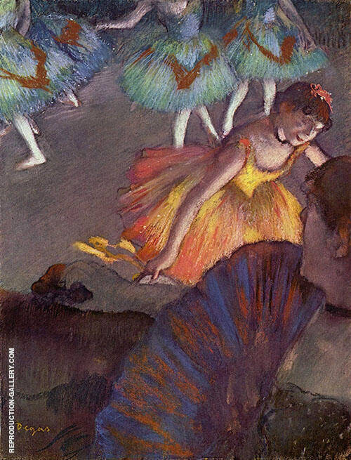 Ballet from an Opera Box c1884 Painting By Edgar Degas