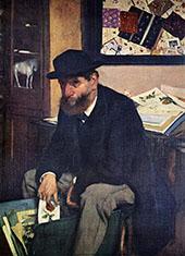 The Amateur 1866 By Edgar Degas