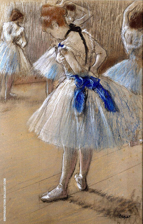The Dance Studio c1878 By Edgar Degas