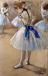 The Dance Studio c1878 By Edgar Degas