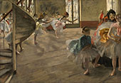 The Rehearsal c1874 By Edgar Degas