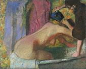 Woman at Her Bath c1895 By Edgar Degas