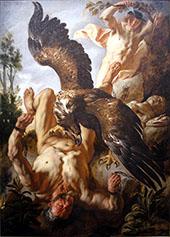 Prometheus Bound By Jacob Jardaens