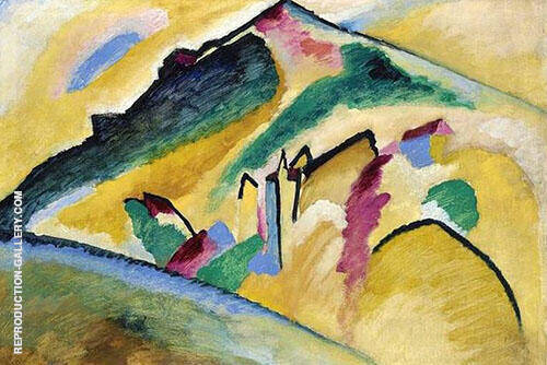 Autumn Landscape 1911 Painting By Wassily Kandinsky - Reproduction Gallery