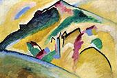 Autumn Landscape 1911 By Wassily Kandinsky