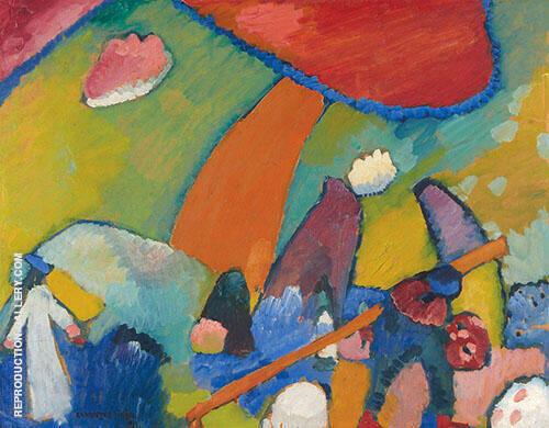 Beach Scene 1909 By Wassily Kandinsky