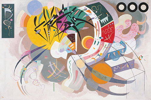 Dominant Curve 1936 Painting By Wassily Kandinsky - Reproduction Gallery