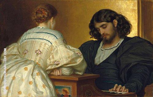 Golden Hours Painting By Frederick Lord Leighton - Reproduction Gallery