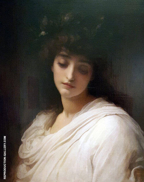 Elegy 1888 Painting By Frederick Lord Leighton - Reproduction Gallery