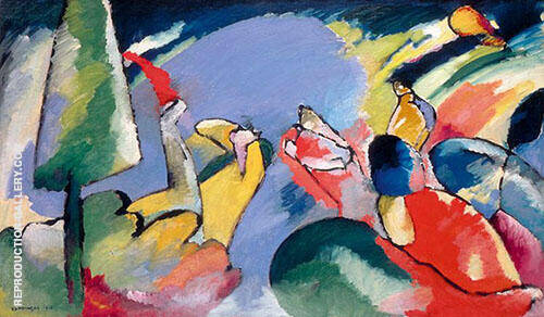 Improvisation 14 1910 Painting By Wassily Kandinsky - Reproduction Gallery