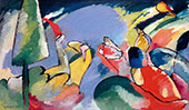 Improvisation 14 1910 By Wassily Kandinsky
