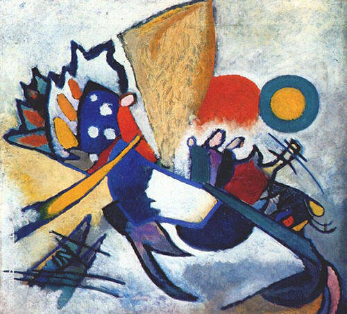 Improvisation 14 1910 By Wassily Kandinsky