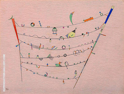 Little Accents 1940 Painting By Wassily Kandinsky - Reproduction Gallery