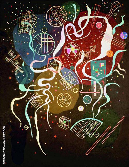 Movement I 1935 Painting By Wassily Kandinsky - Reproduction Gallery