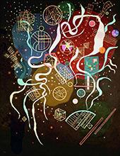 Movement I 1935 By Wassily Kandinsky
