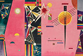 Pink Red 1927 By Wassily Kandinsky