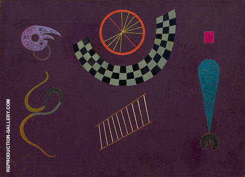 Ribbon with Squares By Wassily Kandinsky