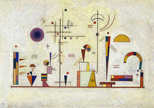Serious Fun 1930 By Wassily Kandinsky
